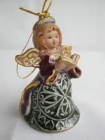 Kerámia csengős angyalka