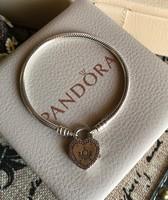 Pandora, Szerelem lakat ezüst karkötő