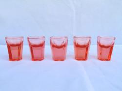 Antik likőrös poharak