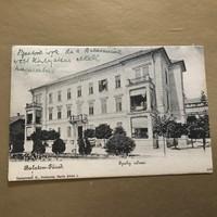 Balaton- Füred  Ipoly udvar 1909