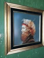 Szász Endre csodálatos, eredeti festménye.