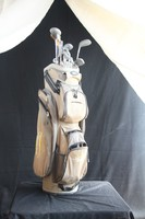 Golf táska + ütők