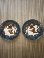Schütz fali tányér pár