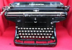 1930-as évekbeli Continental írógép