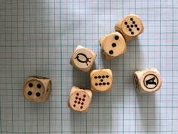 Póker kocka, játék kocka