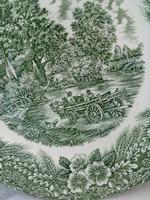 Constable Bicentenar 1776-1976,Broadhurst,Staffordshire,zöld mintás tál