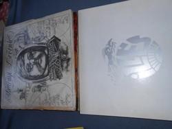 Vegyesen Illés-Fonográf  bakelit lemezek egy csomagban 22 db