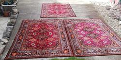 3 db mokett jellegű selymes ágytakaró szőnyeg asztalterítő  eladók Gyűjtői szépségek falusi