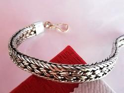Régi ezüst karkötő (925)