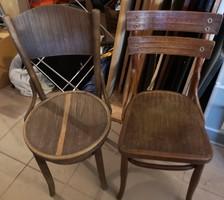 2db Thonet szék (Lichtig) EGYBEN