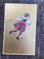 Antik képeslap 1922
