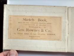 Antik vázlatfüzet 1870 k.