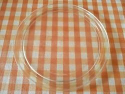Hőálló üveg tál, mikró tányér