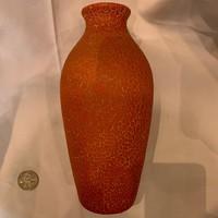 Repesztett mázas váza