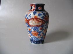 Antik imari váza (19. szd. második fele)