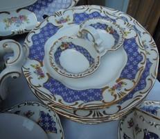 ÚJ Zsolnay Marie Antoinette 6 személyes étkészlet, ritkaság