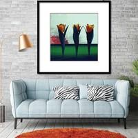 Táncoló Tulipánok - poszter