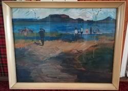 Jenő Benedek - at Lake Balaton