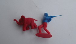 2 darab Régi retro trafikáru játék figura