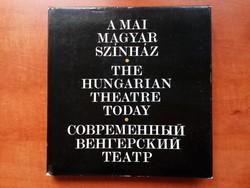 A mai magyar színház /régi könyv /