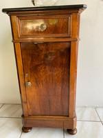 Biedermeier Éjjeli szekrény restaurálva