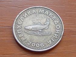 ÉSZAK-MACEDÓNIA (MACEDÓNIA) 2 DENARI 2006 ( KEDVEZMÉNY LENT!!)