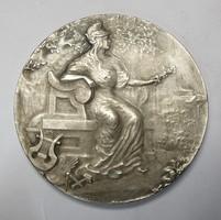 Francia ezüst emlékérem, 1908-1938.