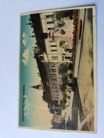 Szekszárd színes 1930 képeslap