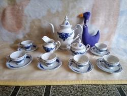 20227A Weimar porcelán mokkás vagy kávéskészlet