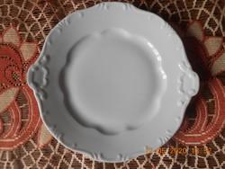 Zsolnay porcelán süteményes kínáló tál
