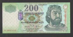 "200 forint 2005. ""FC""  UNC!!  RITKA!!"