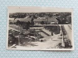 Régi képeslap 1943 Ada Hősök tere
