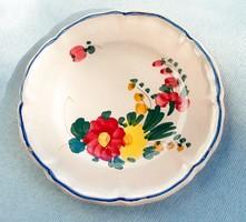 Vintage olasz sütis tányér