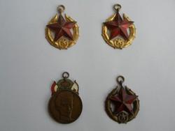 Retró kitüntetések