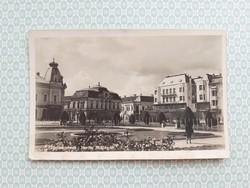 Régi képeslap 1944 Szatmárnémeti Horthy Miklós tér