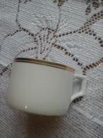 Zsolnay aranycsíkos  kávés csésze