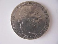 Ferenc József ezüst 5 korona 1907