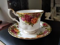 Royal Albert Old Country Roses Angol porcelàn teàs duò