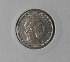 ★1895 Ferenc József 1 Korona KB★
