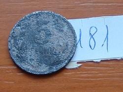 NÉMET 5 PFENNIG 1917 NOTGELD WWI KRIEGSGELD CINK  Iserlohn EREDETI KÉPPEL!!! 1 ( KEDVEZMÉNY LENT!!)