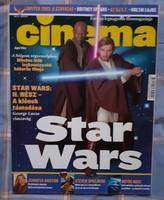 Cinema 2002/4 Star Wars: Klónok támadása cikk és képek 9 oldalon keresztül