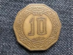 Algéria 10 Dinár 1979 British Royal Mint / id 18851/