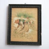 Neogrády Antal festmény