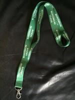 HONVÉDELMI TÁBOR feliratos zöld nyakbaakasztó telefonhoz, kártyákhoz ÚJ kártyatartó