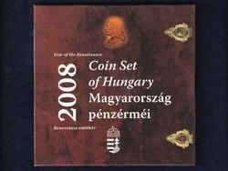 2008-as BU forgalmi sor - Reneszánsz emlékév Hunyadi ezüst fantáziaverettel / id 8967/