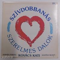 Szívdobbanás LP szerelmes dalok