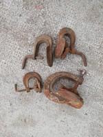 4 db antik saller szorító szerszám