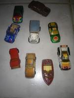 9 db régi matchboxok