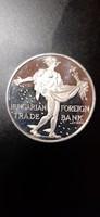 1 uncia ezüst befektetésnek Hermészt ábrázoló emlékérem 36 gramm sterling egy nagy érme 1990 ből