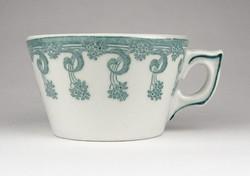 0Z807 Antik Zsolnay porcelán csésze XIX. század